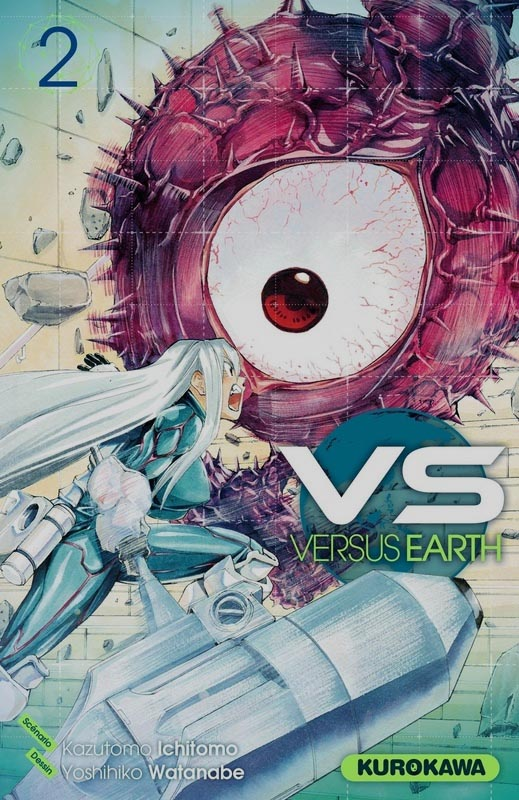 VS Versus Earth T2, manga chez Kurokawa de Ichimoto, Watanabe
