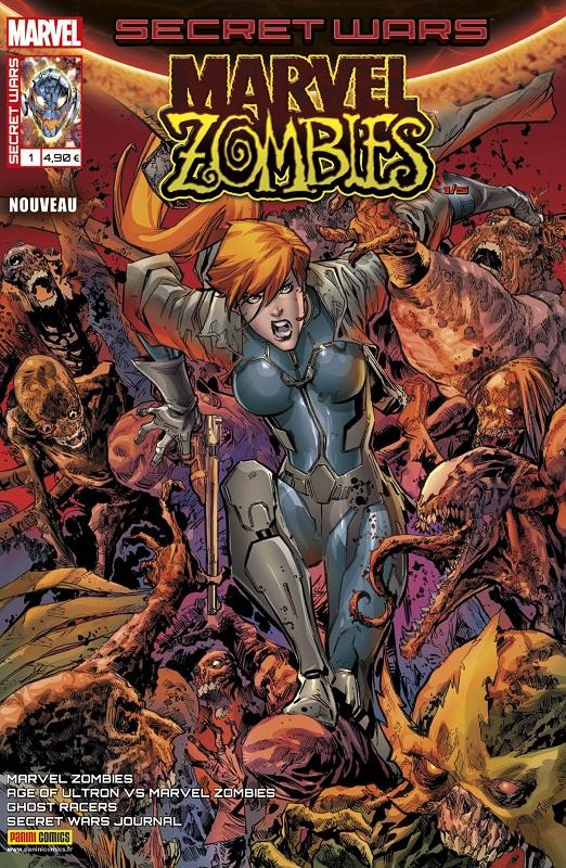 Secret Wars : Marvel Zombies T1 : Voyage au cœur de la misère (0), comics chez Panini Comics de Shen, Smith, Robinson, Spurrier, Bachs, Walker, Garney, Pugh, Gedeon, Milla, Charalampidis, d' Armata, Bonvillain, Beaulieu, Lashley