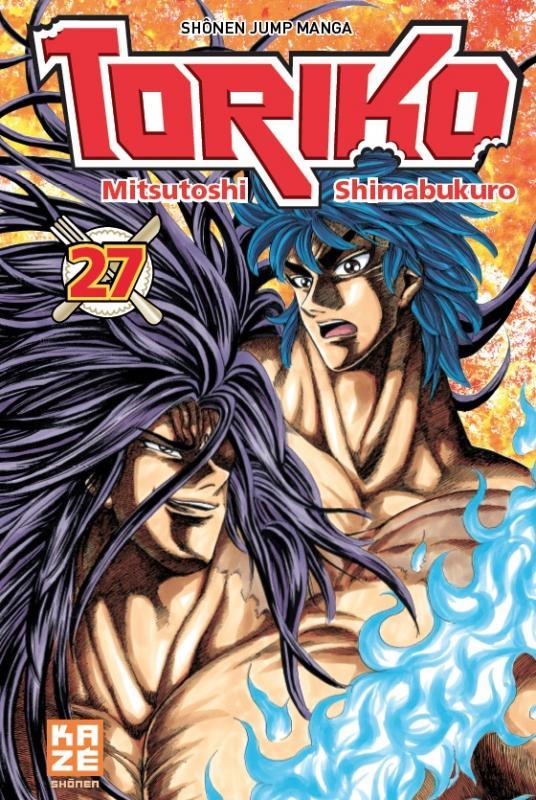 Toriko T27, manga chez Kazé manga de Shimabukuro