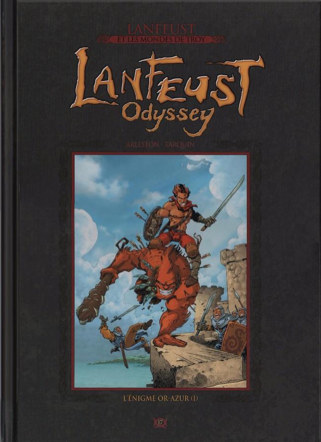 Lanfeust et les mondes de Troy T17 : Lanfeust Odyssey - L'énigme Or-Azur (1) (0), bd chez Hachette de Arleston, Tarquin, Besson
