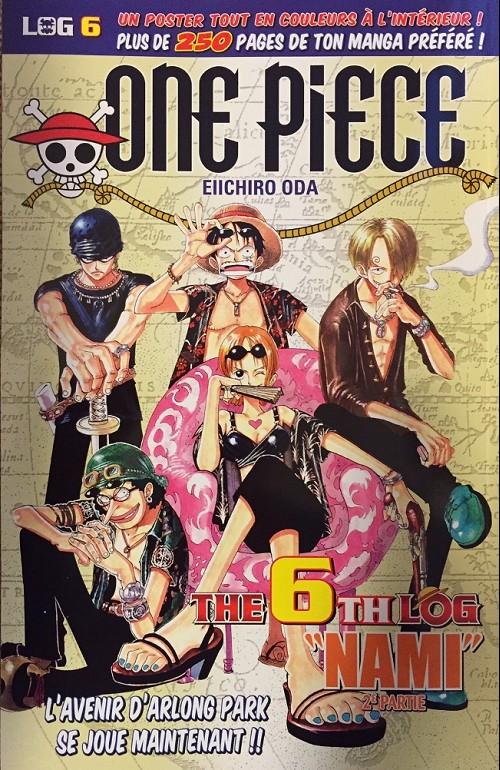 One Piece - Log Books T6 : Nami - 2ème partie (0), manga chez Hachette de Oda