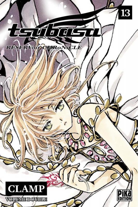 Tsubasa RESERVoir CHRoNiCLE – Edition double, T13, manga chez Pika de Clamp