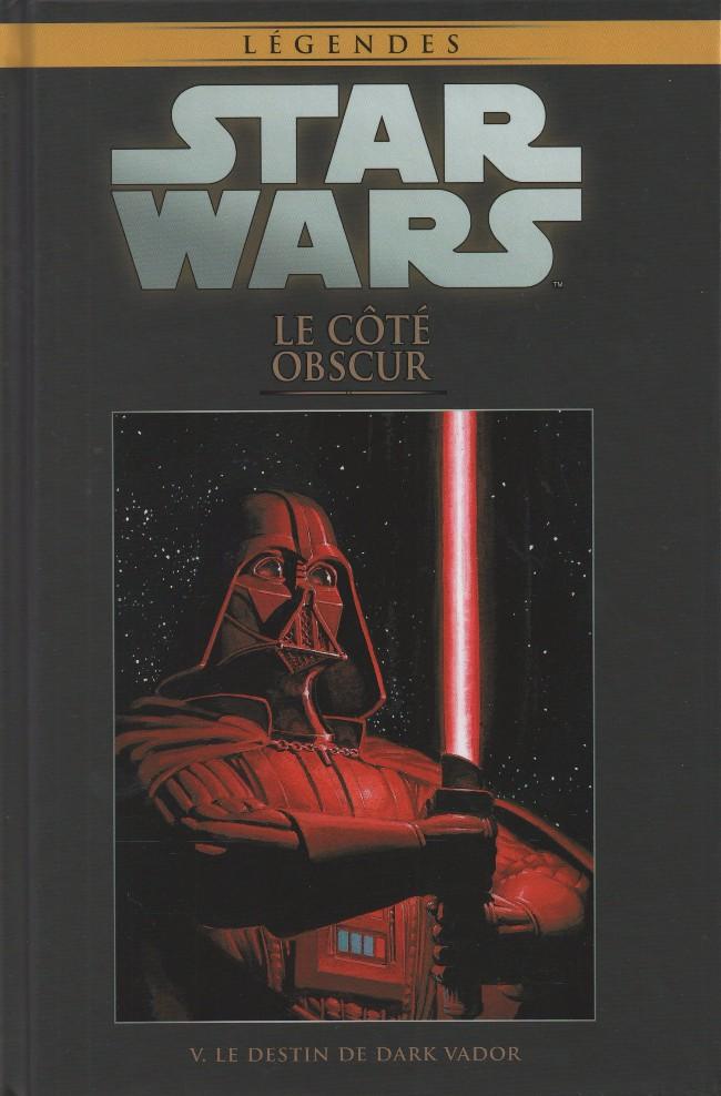Star Wars Légendes – Dark Side, T5 : Le côté obscur - Le destin de Dark Vador (0), comics chez Hachette de Marz, Kindzierski, Windham, Plunkett, Castellini, Teranishi, Leonardi, Trevino, Major, McCaig