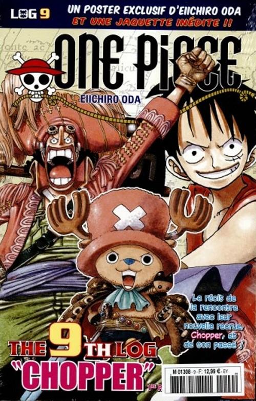 One Piece - Log Books T9 : Chopper - 1ère partie (0), manga chez Hachette de Oda