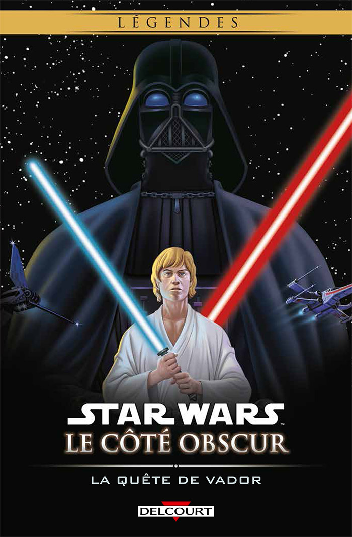 Star Wars - Le côté obscur T3 : La quête de Vador (0), comics chez Delcourt de Macan, Gibbons, McKie