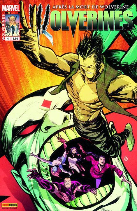 Wolverines T4 : Le mot de la fin (0), comics chez Panini Comics de Fawkes, Soule, Ogle, Marks, Cabal, Kristantina, Marc, Scherberger, Anindito, Doe, Loughridge, Fabela, Oback, Rosenberg
