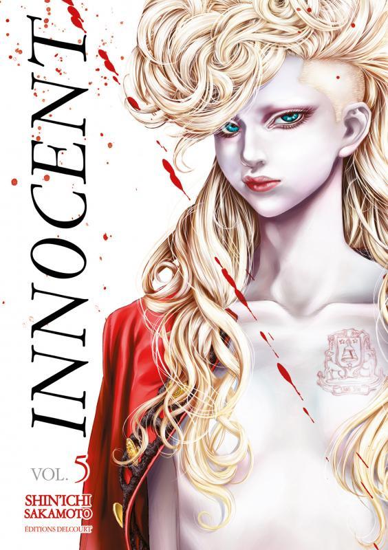 Innocent T5, manga chez Delcourt de Sakamoto