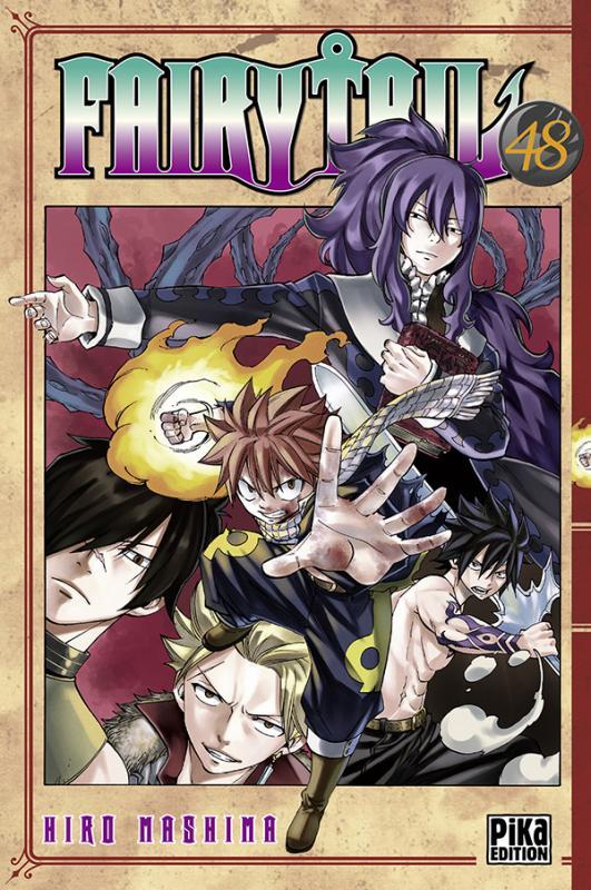 Fairy Tail T48, manga chez Pika de Mashima