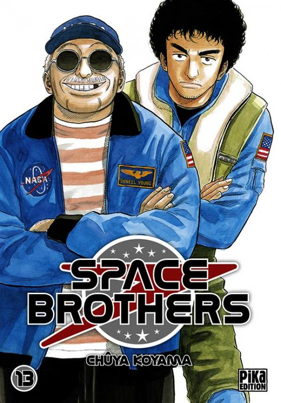 Space brothers T13 : , manga chez Pika de Koyama