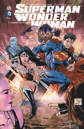 Superman & Wonder Woman T1 : Couple mythique (0), comics chez Urban Comics de Soule, Siqueira, Daniel, Morey, Hi-fi colour