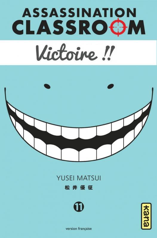 Assassination classroom T11 : Victoire !! (0), manga chez Kana de Yusei