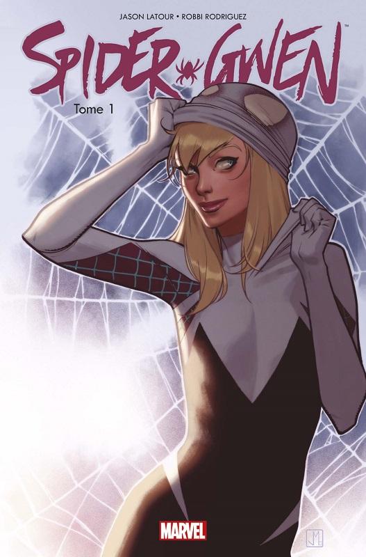 Spider-Gwen T1 : Ennemie publique ? (0), comics chez Panini Comics de Latour, Rodriguez, Renzi, Molina