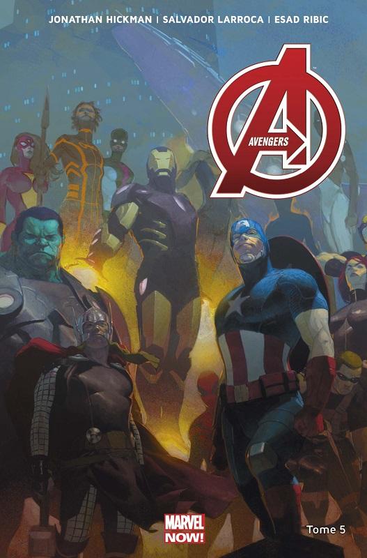 The Avengers (vol.5) T5 : Planète vagabonde (0), comics chez Panini Comics de Hickman, Larroca, Ribic, Guice, Deodato Jr, Martin, Martin jr, White, Mounts, Mossa
