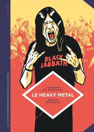 La Petite bédéthèque des savoirs T4 : Le heavy metal (0), bd chez Le Lombard de de Pierpont, Bourhis