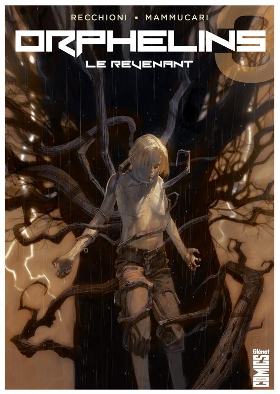 Orphelins T3 : Le Revenant (0), comics chez Glénat de Recchioni, Dell'edera, Maresca, Niro, Pastorello, Carnevale