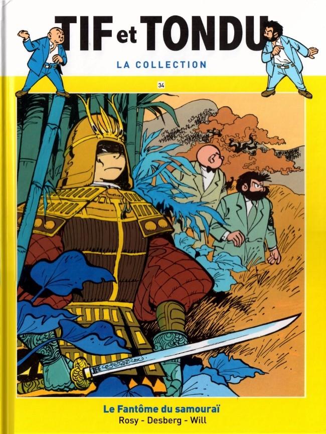Tif et Tondu T34 : Le fantôme du Samouraï (0), bd chez Hachette de Rosy, Will