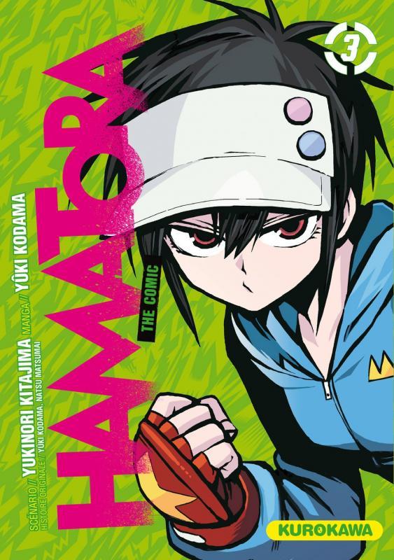 Hamatora T3, manga chez Kurokawa de Kodama, Matsumai, Kitajima