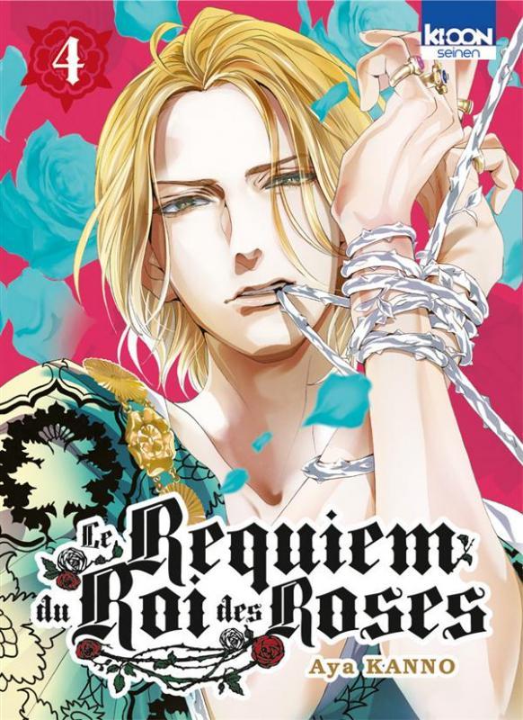 Le Requiem du roi des roses  T4, manga chez Ki-oon de Kanno