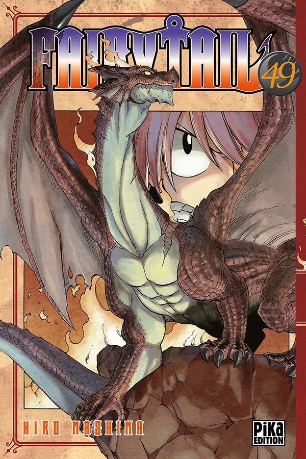 Fairy Tail T49, manga chez Pika de Mashima