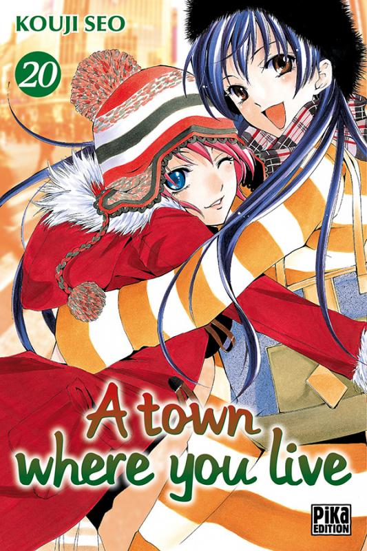 A Town where you live T20, manga chez Pika de Seo