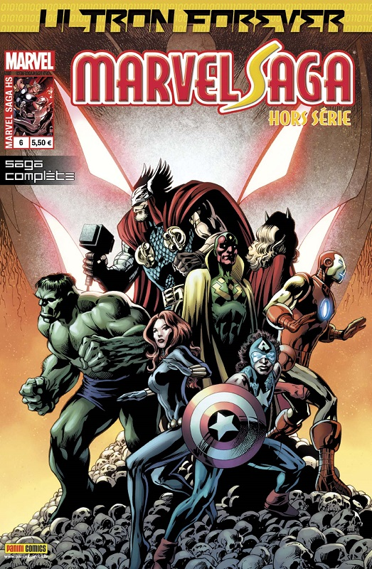 Marvel Saga Hors série T6 : Ultron Forever (0), comics chez Panini Comics de Ewing, Davis, Rosenberg