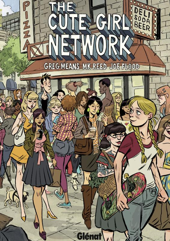 The Cute Girl network, comics chez Glénat de Means, Reed, Flood