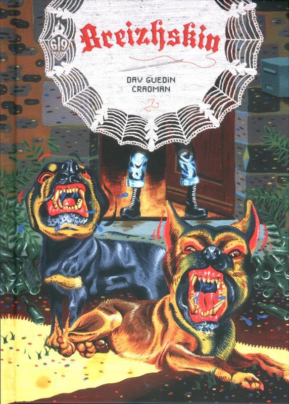 Breizhskin, bd chez Ankama de Guedin, Craoman