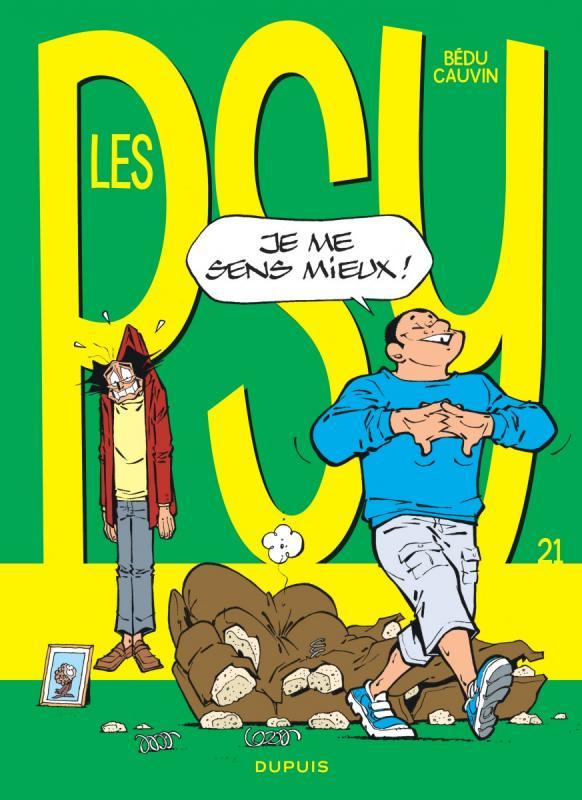 Les psy T21 : Je me sens mieux ! (0), bd chez Dupuis de Cauvin, Bédu