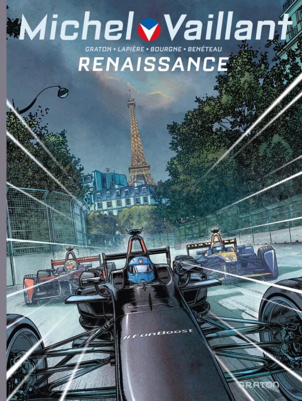 Michel Vaillant – Nouvelle saison, T5 : Renaissance (0), bd chez Dupuis de Graton, Lapière, Benéteau, Bourgne, Lerolle