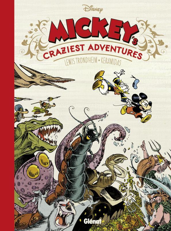 Mickey's Craziest Adventures, bd chez Glénat de Trondheim, Keramidas, Findakly