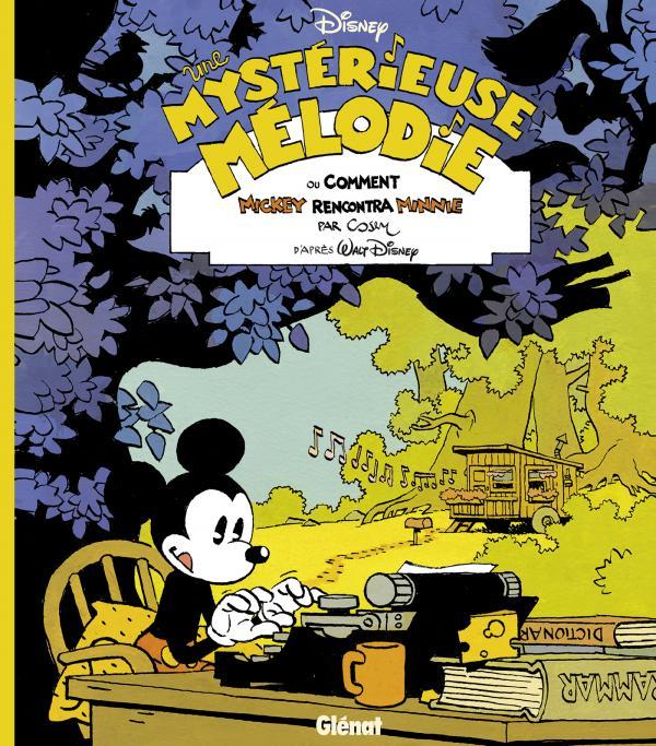 Minnie Mouse T1 : Une délicieuse mélodie (0), bd chez Glénat de Cosey