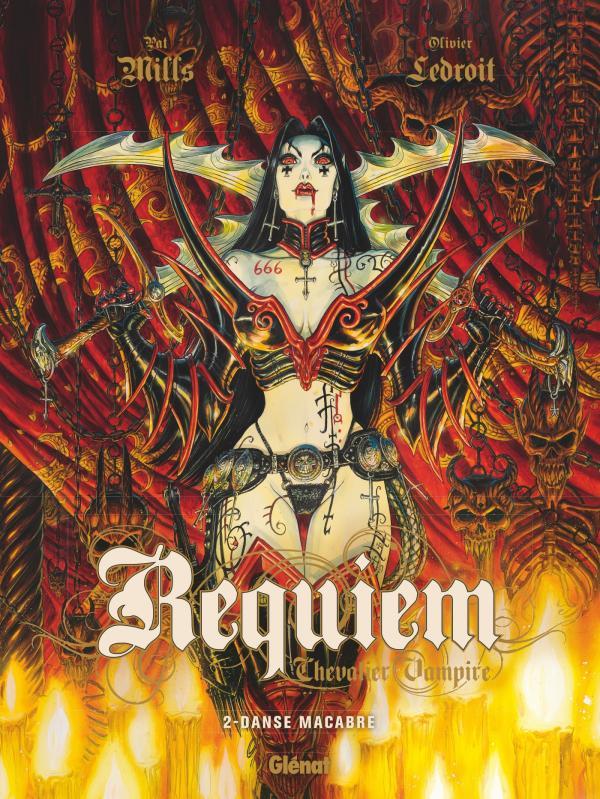 Requiem - chevalier vampire T2 : Danse macabre (0), bd chez Glénat de Mills, Ledroit