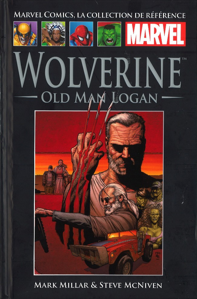 Marvel Comics, la collection de référence T55 : Wolverine - Old Man Logan (0), comics chez Hachette de Millar, McNiven, Hollowell, Keith, Fairbairn, Strain, Ponsor, Mounts