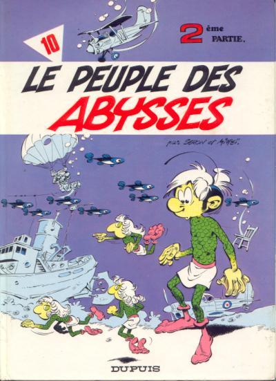 Les petits hommes T10 : Le peuple des Abysses (0), bd chez Dupuis de Mittéï, Seron, Léonardo