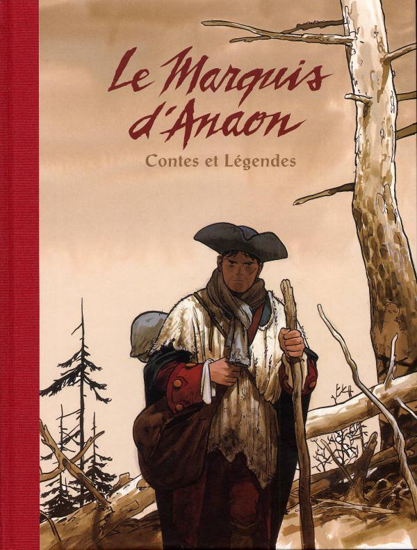 Le marquis d'Anaon : Contes et légendes (0), bd chez Dargaud de Vehlmann, Bonhomme