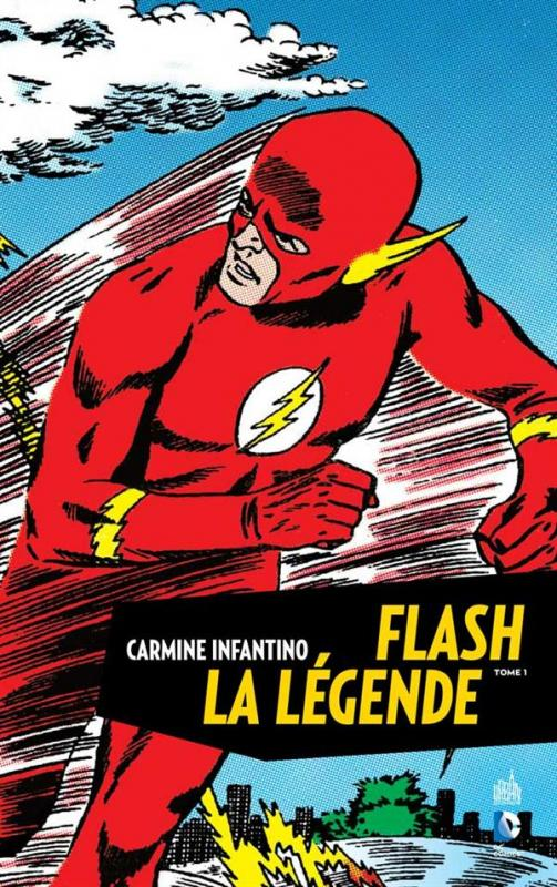 Flash la légende T1, comics chez Urban Comics de Broome, Kanigher, Infantino, Kubert, Collectif