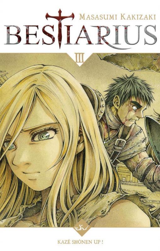 Bestiarius T3, manga chez Kazé manga de Kakizaki