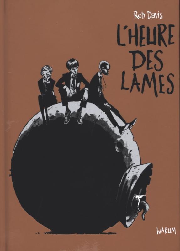 L'heure des lames, comics chez Warum de Davis