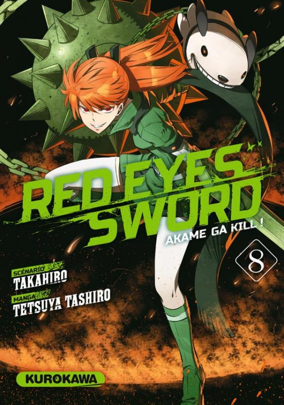 Red eyes sword - akame ga kill ! T8, manga chez Kurokawa de Takahiro, Tashiro