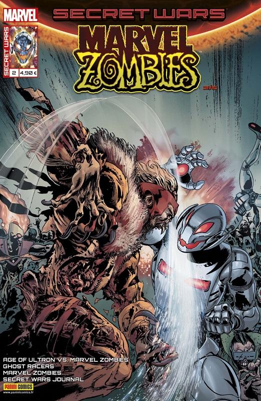 Secret Wars : Marvel Zombies T2 : D'étranges associés (0), comics chez Panini Comics de Spurrier, Robinson, Gillen, Smith, Grummet, Andrade, Walker, Pugh, Gedeon, Rosenberg, Bonvillain, Guru efx, Aburtov, Charalampidis