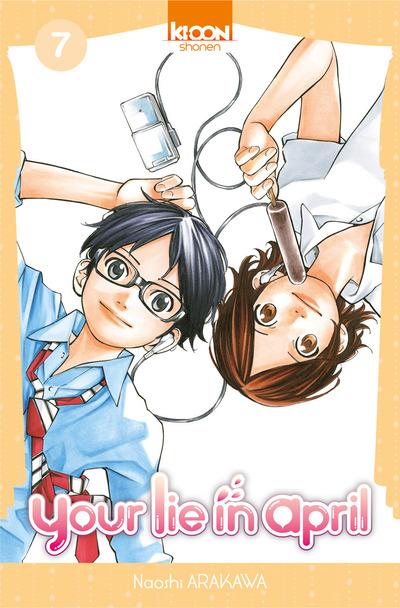 Your lie in april  T7, manga chez Ki-oon de Arakawa