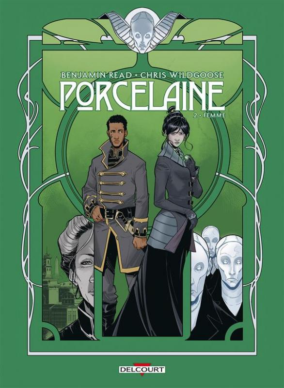 Porcelaine T2 : Femme (0), comics chez Delcourt de Read, Wildgoose, May