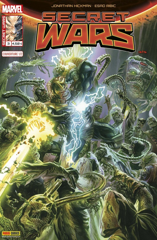 Secret Wars T3 : Plus dure sera la chute (0), comics chez Panini Comics de Hickman, Ribic, Svorcina, Ross, Brooks