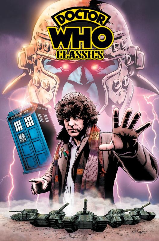 Doctor Who Classics : Omnibus (0), comics chez French Eyes de Wagner, Mills, Gibbons, Collectif