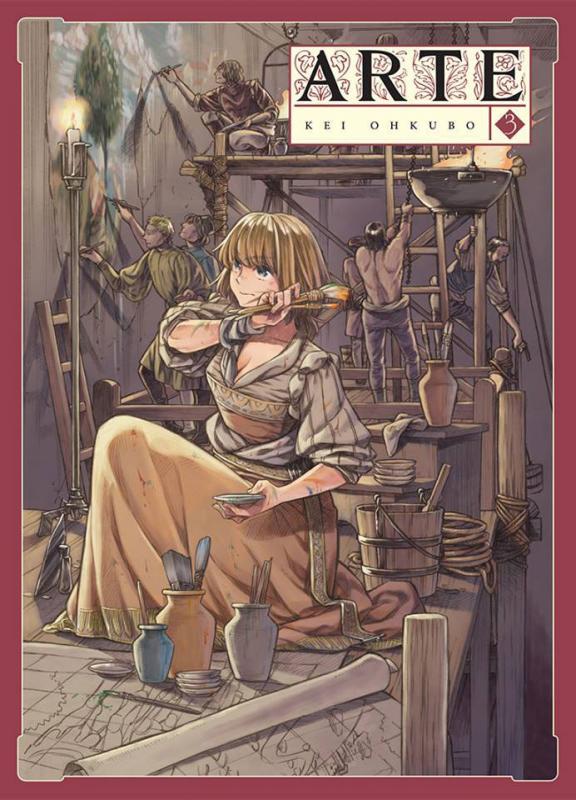Arte T3, manga chez Komikku éditions de Ohkubo