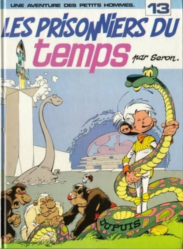 Les petits hommes T13 : Les prisonniers du temps (0), bd chez Dupuis de Seron, Léonardo