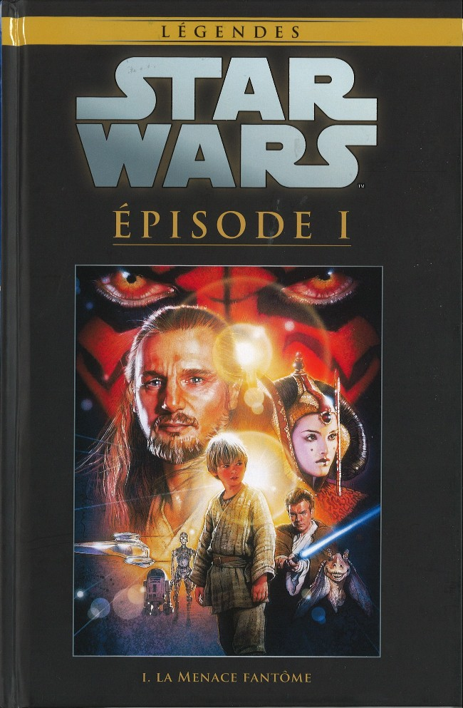 Star Wars Légendes T23 : Episode 1 - La menace fantôme (0), comics chez Hachette de Gilroy, Williamson, Dammagio, David