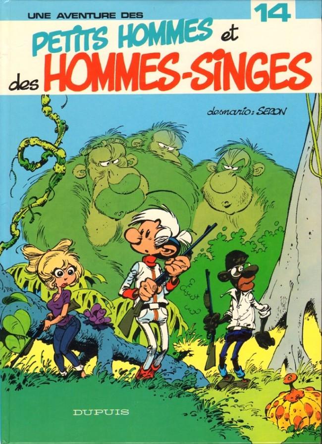 Les petits hommes T14 : Petits hommes et hommes-singes (0), bd chez Dupuis de Seron, Léonardo