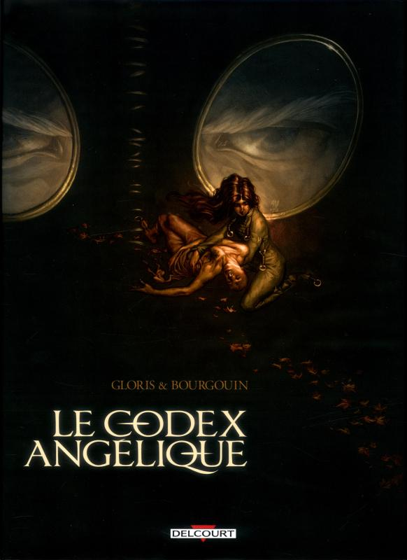 Le codex Angelique, bd chez Delcourt de Gloris, Bourgouin