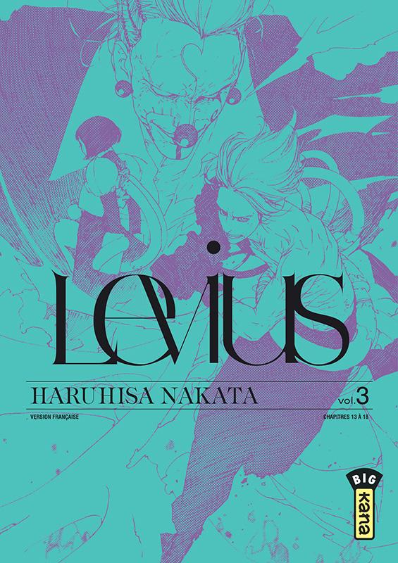 Levius – cycle 1, T3, manga chez Kana de Nakata